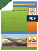 Caminos Informe