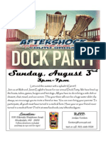 Dock Party 2014