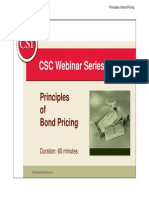 Principles of Bond Pricing