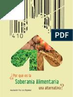 Soberania Alimentaria Una Alternativa