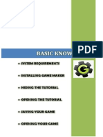Game Maker 8 Basic Knowledge