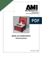 740063 M227 Oper Manual Rev E