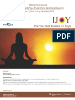 Comparative immediate effect of different yoga asanas on heart rate and blood pressure in healthy young volunteers