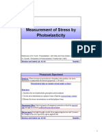 Photoelasticity Polariscope
