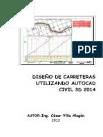 Manual de Autocad Civil 3d 2014 Para Carreteras
