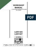 Work Shop Manual LGW 523-627 Matr 1-5302-509