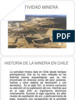 Actividad Minera -Introducción