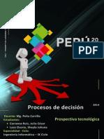 Prospectiva Tecnologica - Peru 2021 [SOLUCION]