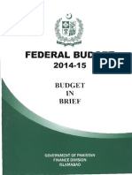 Budget in Brief 2014 15