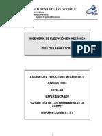E03 Geometría de Las Herramientas de Corte