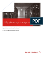 BAIN BRIEF Why Cybersecurity is a Strategic Issue