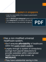 Health Care System in Singapore