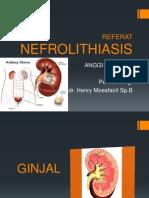 Nefrolitiasis - Referat Dr Henry