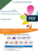 Kraft Supplier Forum_SQE_ Supplier Approval_2011