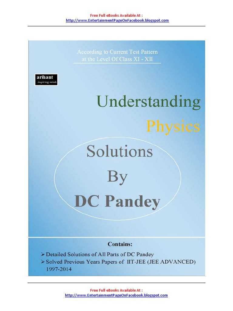 Dc Pandey Electricity And Magnetism Ebook