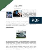 Avances Tecnológicos 2013