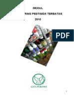 Modul Monitoring Pestisida Terbatas, 2010(1)