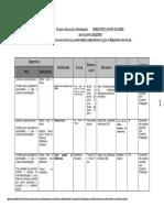 Plano Anual de Atividades (Bibliotecas Escolares)