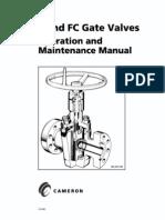 Cameron Gate Valves Valve Bearing Mechanical