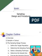 Sampling Selecting Sample