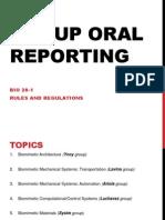 Bio 20 Group Reporting and Biomimetic Proposal1