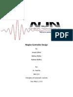 MagLev Control