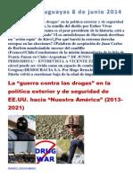 Noticias Uruguayas 8 de Junio 2014