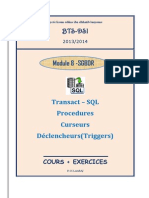 Cours Exercices T SQL