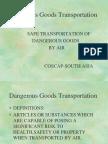 Dangerous Goods transportation.