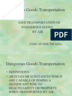 Dangerous Goods transportation.