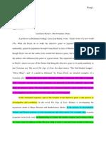 critical reading response essay