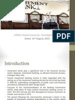 Presentationinvestment Banking