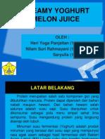 Yoghurt Ppt(1)