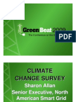 Green Beat 09 Executive Cliimate Change Survey