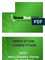Green Beat 09 Innovation Competition Set2