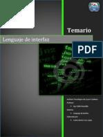 Lenguaje de Interfaz - Temas