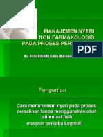 Manajemen Nyeri Non Farmakologi Pada Persalinan