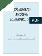 Niveau 2 Assemblage M1 H1PS8011 2013 Debeda