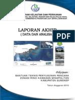 Buku Data Dan Analisis RZRWP3K Sumenep