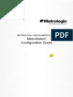 MetroSelect Configuration Guide 02407H