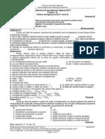 E d Chimie Anorganica Niv I II Teoretic 2014 Var 02 LRO
