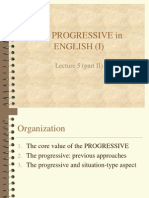 The Progressive in English