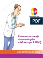 AH1N1 Protoc Manej Casos