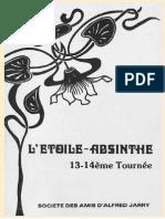 Etoile Absinthe 013 14reduit