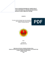 Perancangan Sistem Informasi Arsip Surat