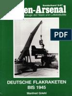 (Waffen-Arsenal Sonderband S-67) Deutsche Flakraketen bis 1945