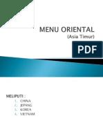Menu Mkn Oriental