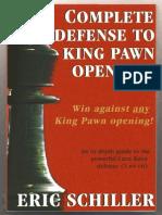Eric Schiller - Complete Defense to King Pawn Openings (Caro-Kann).pdf