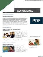 Deutsch Unterrichten _ DW