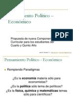 Pensamiento Político – Económico